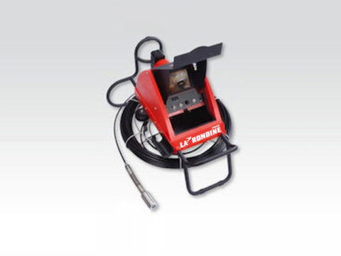 Telecamera a spinta elastica per tubazioni